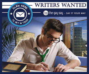 The Gay Say – Writers Wanted Poster – Ireland, UK and Worldwide