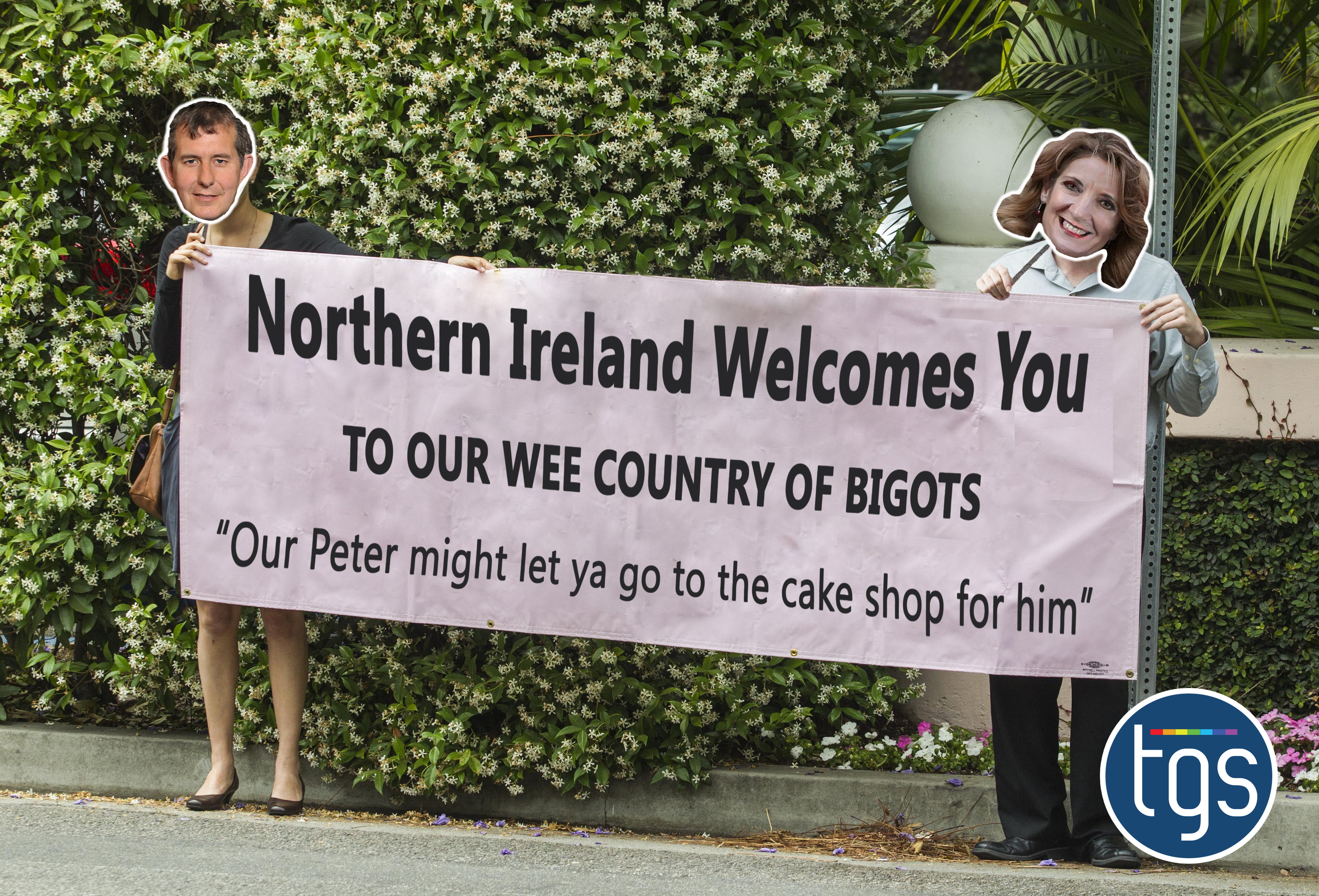northern ireland is a great place to be a bigot