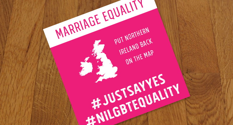 Northern Ireland Marriage Equality Protests