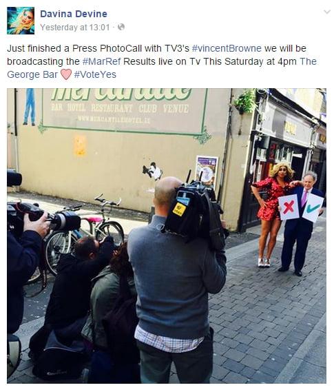 davina devine marriage equality result press conference
