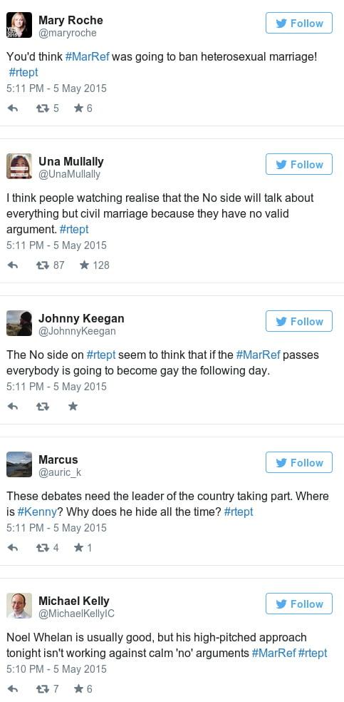 irelands marriage referendum tweets
