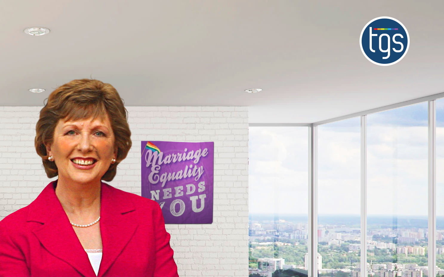 """Former Irish President Mary McAleese urges NI to """"Consign Homophobia to History"""""""