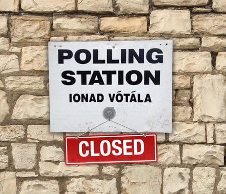 polling station closed ireland marriage referendum
