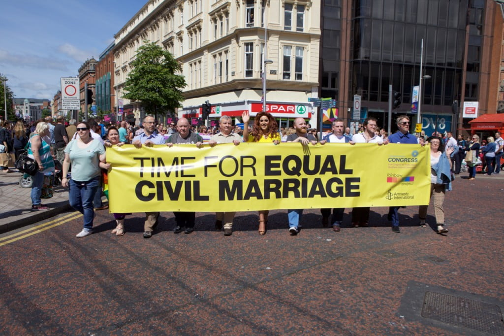 Marriage Equality March and Rally - Belfast City Centre (June 2015)
