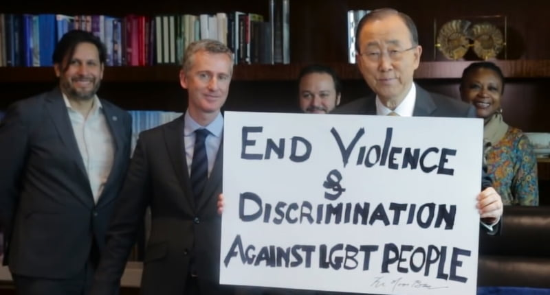 United Nations release fantastic IDAHOT fight song!